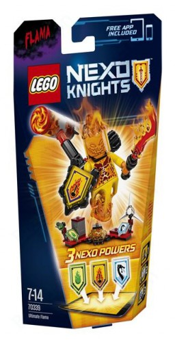 LEGO 70339 - LEGO Nexo Knights Ultimate Flama